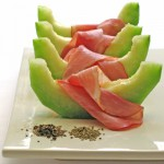 Prosciutto with Melon, Anise and Black Pepper