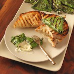 grilled mozzarlla wrapped in chard- Sippity Sup