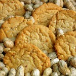 Peanut cookies