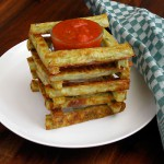 Baked Broccoli Polenta Sticks
