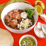 Black Bean Chili with Chipotle Braised Pork