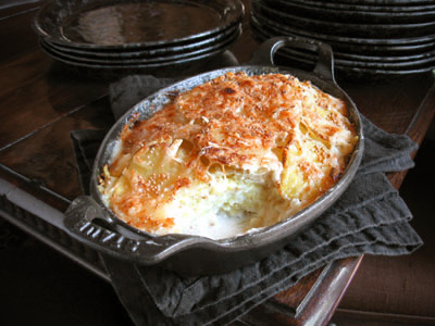 ... Idaho Potatoes- Scalloped Potatoes with Endive & Mustard - SippitySup