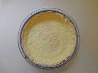 baked cornmeal crust