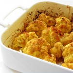 Roasted Cauliflower with Lemon and Anchovies
