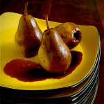 Roasted Pears with Balsamic Glaze