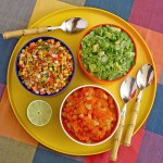 three delicious salsa variations
