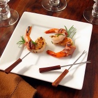 Orange & Rosemary Prosciutto-Wrapped Grilled Shrimp
