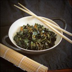 Wakame Wonder Salad with Leaf Organics House Dressing