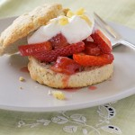 Rhubarb &amp; Strawberry Shortcake