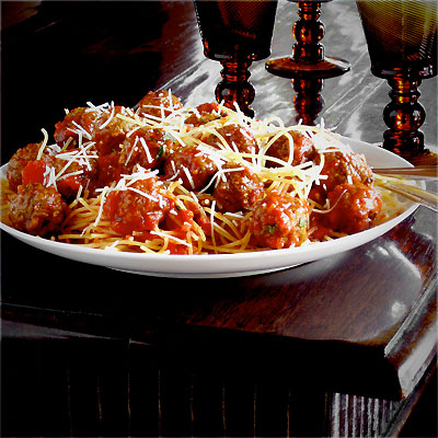 Classic Spaghetti and Meatballs, Now That's (Not Really) Italian ...