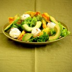 Squash Blossom and Ricotta Salad