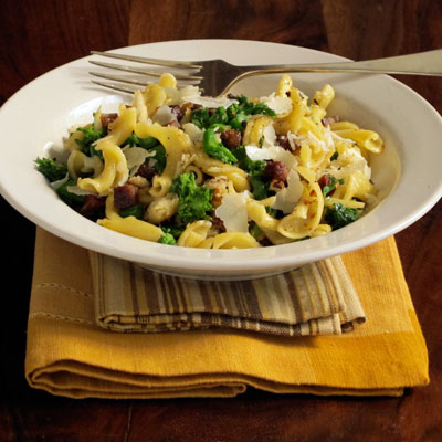 Strozzapreti Pasta with Broccoli Rabe