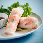 Shrimp and Chive Spring Rolls