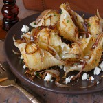 Conchiglioni with Balsamic Glazed Sweet Onions &amp; Gorgonzola