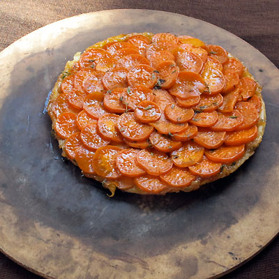 sweet potato tart tatin