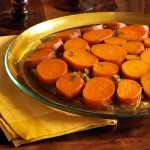 Sweet Potato &amp; Onion Upside Down Gratin