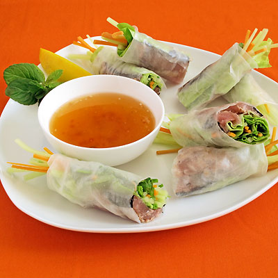 summer rolls with spicy peanut sauce ginger sesame tofu summer rolls ...