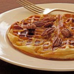 waffle apple tatin tart