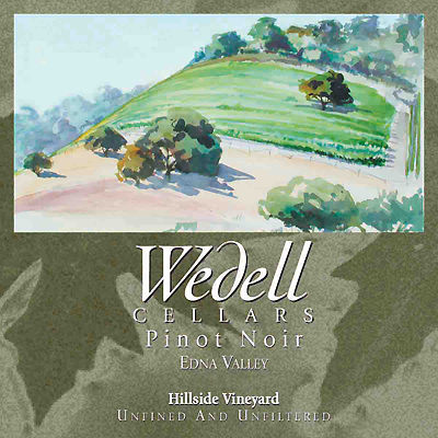 Wedell Cellars Pinot Noir