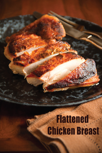 Flattened Chicken Breasts Sippitysup