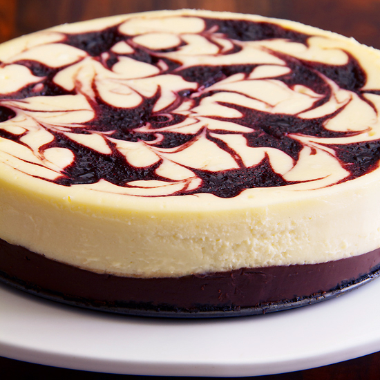 Black Bottom Cheesecake With Chocolate And Cherry Sippitysup